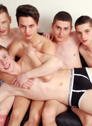 Sensual Gay Group Sex Pleasure