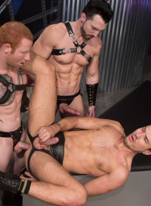 Jimmy Durano, Jordan and Theo Ford fuck each other