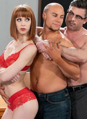 Alexa Nova, Lance Hart and Eli Hunter suck and fuck