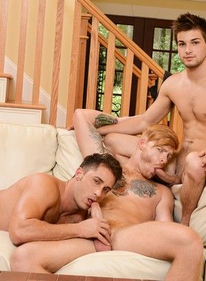 Johnny Rapid, Bennett Anthony, Adam Bryant, Armando De Armas, Darin Silvers, Anal, Red Head, Facial, Blowjob, Orgy