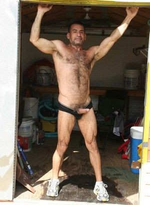 Ben Venido shows off his body