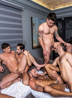 JJ Knight, Mas Arion, Colton Grey, Manuel Skye, Ruslan Angelo, Hunter Smith, Jeffrey Lloyd, Dakota Payne, Allen King and Michael Lucas suck and fuck