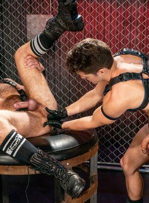 Devin Franco fucks and fists Josh Mikael