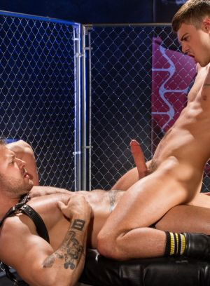 Austin Wolf and Hunter Page suck and fuck each other