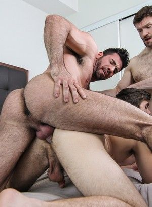 anal sex billy santoro blowjob dennis west hairy pornstar rimming tattoo threesome will braun