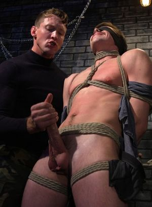 Pierce Paris abuses and fucks Jack Hunter