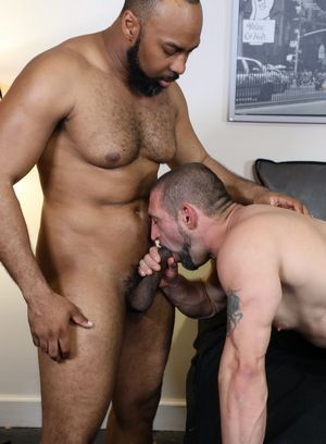 Ray Diesel and Aaron Trainer fucks Ceasar Ventura