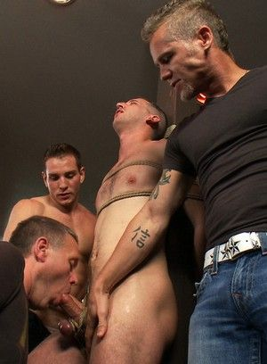 Muscle stud gets tied up and humiliated