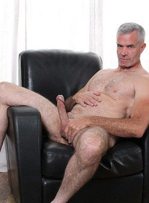 Derek Anthony strokes his hard cock