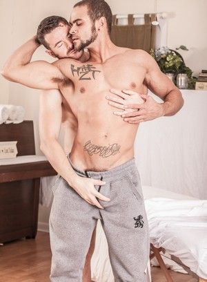 Brendan Patrick, Brock Avery, Anal, Straight, Masturbation, Muscular Guys, Oral, Blowjob, Safe Sex