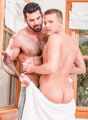 Billy Santoro, Brandon Wilde, Anal, Straight, Masturbation, Muscular Guys, Rimming, Safe Sex