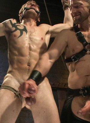 Adam Herst, Cole Brooks, BDSM, Bondage, Leather