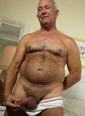 Dick Ryan shows off his body