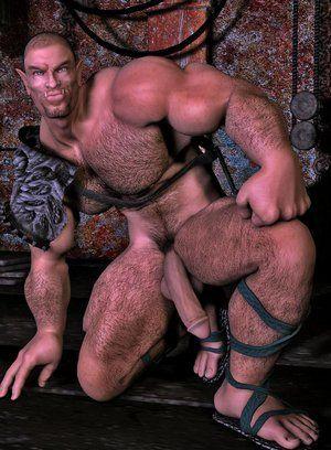 Horny Tentacles fuck gays